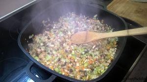 Chili_Gemüse anschwitzen